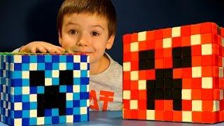 Кока Все Серии - Майнкрафт игрушки для Мальчиков. Видео Обзор для Детей. Minecraft Toys