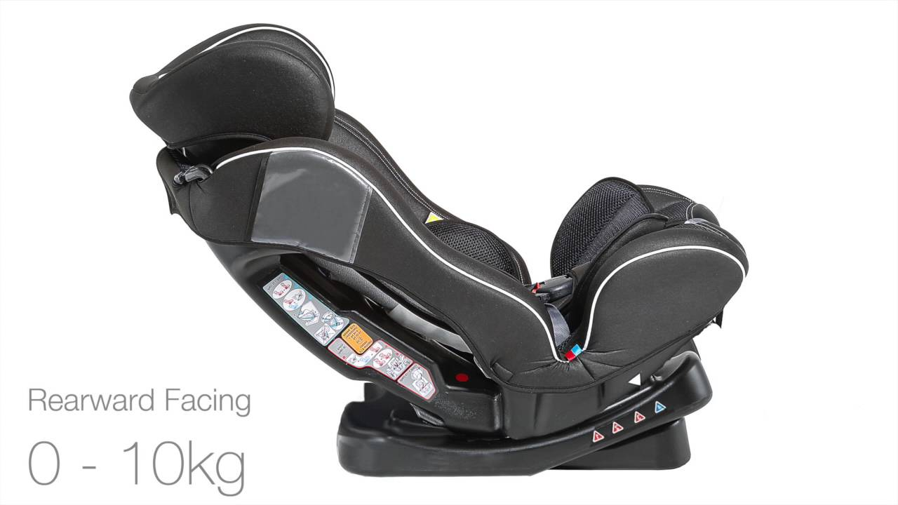 Baby Elegance Group 0,1,2 Car Seat - YouTube