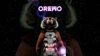 OREWO: funny flying raccoon