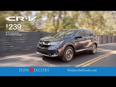 Don Jacobs Honda >> 2018 Accord Civic Cr V More At Don Jacobs Honda In Lexington