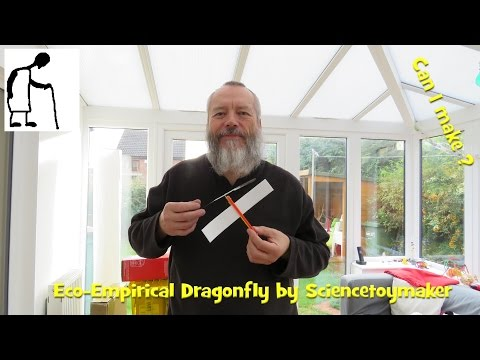 Can I make the Eco Empirical Dragonfly by Sciencetoymaker?