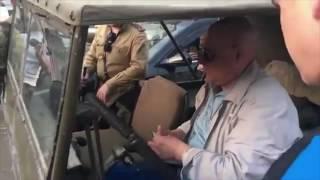 В Одессе водителя задержали из-за советской звезды на машине