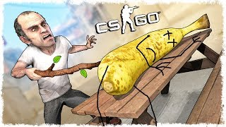 ТРОЛЛЬ ТРЕВОР ИЗ GTA 5 vs БАНАН МАНЬЯК В CS:GO!!!