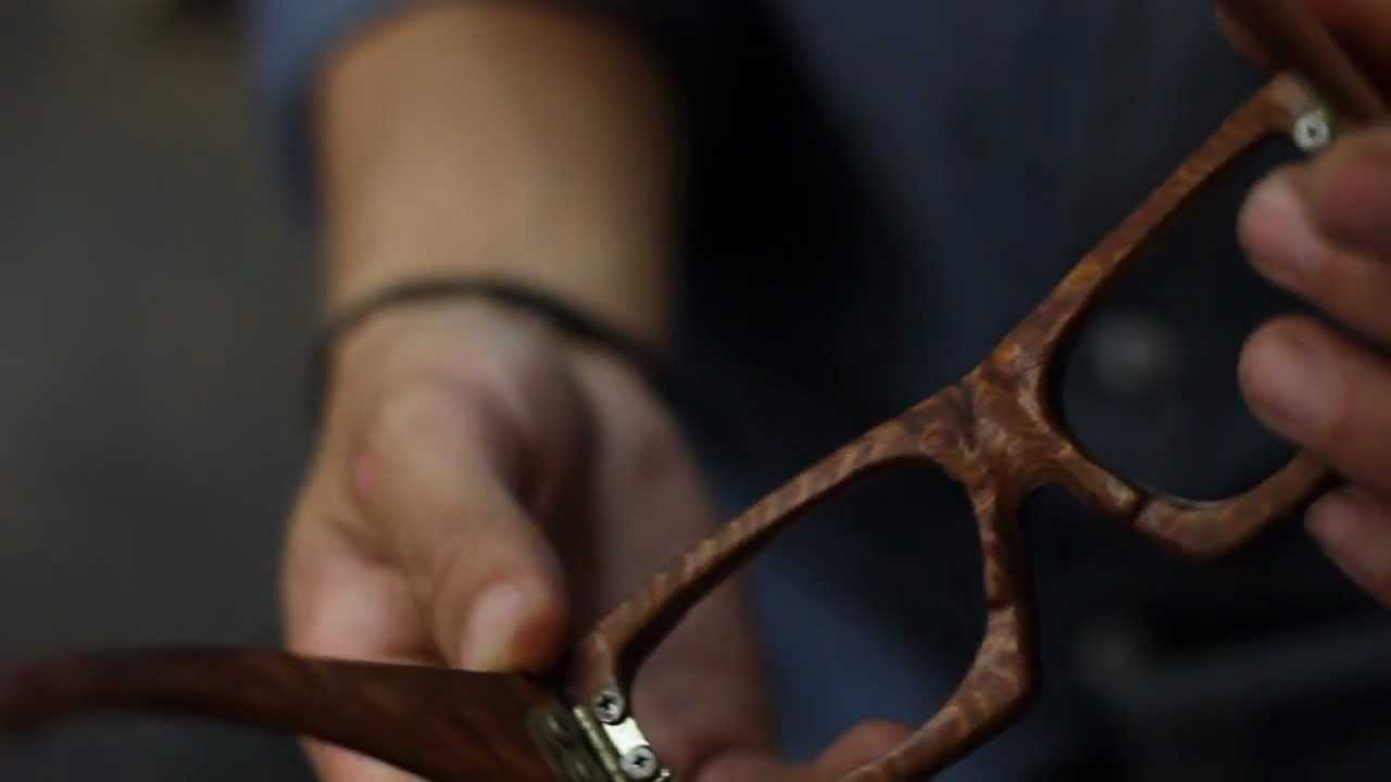 27ee398649 Shwood Handcrafted Wooden Eyewear - YouTube