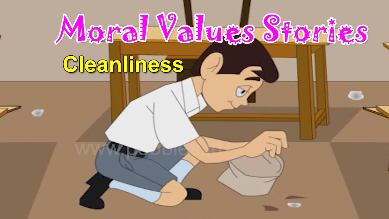 Moral Values in Hindi for Kids | Cleanliness | Moral Lessons For Children |  Moral Values Stories