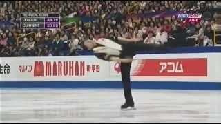小塚選手の滑りと演技に、解説者が感銘を受けています。 この時点では、...