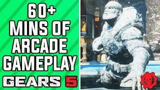 GEARS 5 Multiplayer Gameplay - 60+ Minutes of Arcade Mode Gameplay (GEARS 5 Arcade Versus Gameplay)