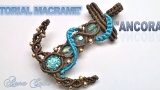 "Macrame tutorial ""Anchor""/Diy tutorial"
