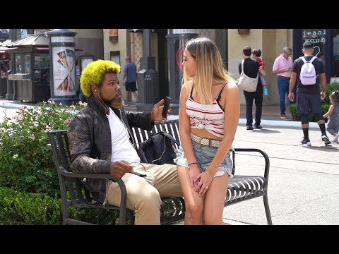 Sitting on Strangers Prank!