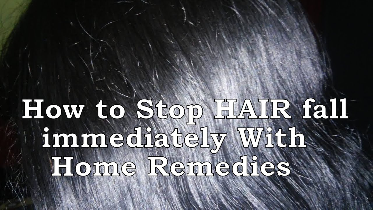 Image result for How to Stop Hair Fall - Immediately