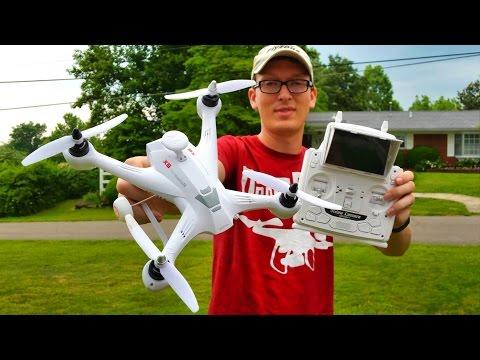 Xinlin X181 FPV Drone Navigator X6 Quadcopter Review & Flight - TheRcSaylors