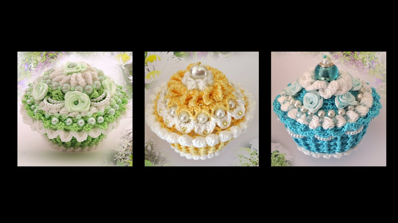 Muffins Häkeln Crochet Cupcakes Youtube