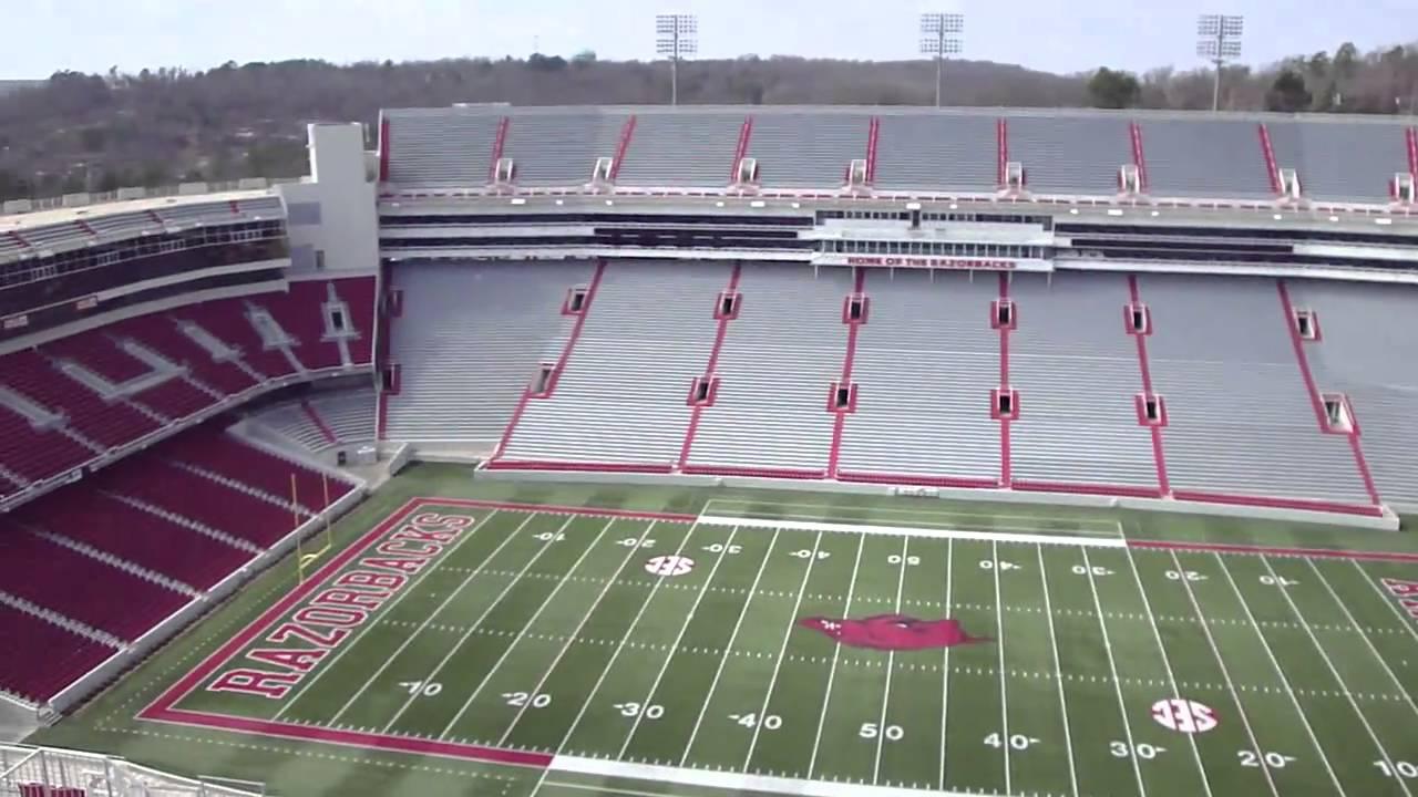 Arkansas Football Stadium Youtube