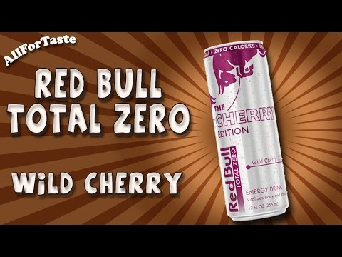 Energy Drink Project - Red Bull Total Zero - Wild Cherry