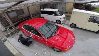 BMW 320i オイル交換と洗車