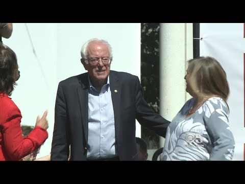 Sen. Bernie Sanders Talks Up