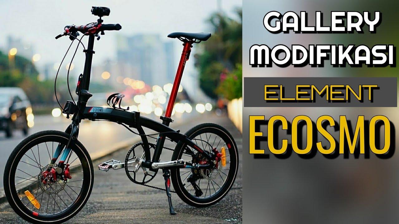 Gallery Modifikasi Element Ecosmo Upgrade Ringan Sepeda Lipat Element Ecosmo Youtube
