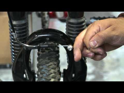 Adjusting a Mountain Bike V-Brake