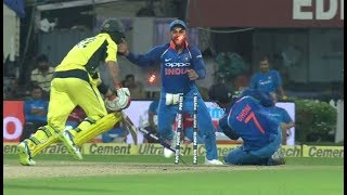Best !! MS Dhoni's UNBELIVABLE  STUMPING to Dismiss Glenn Maxwell.. thumbnail