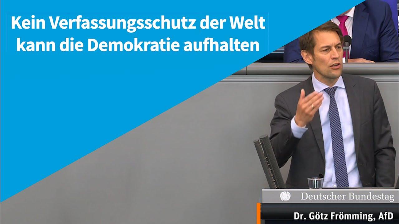09.06.2021 Kein Verfassungsschutz der Welt kann die Demokratie aufhalten