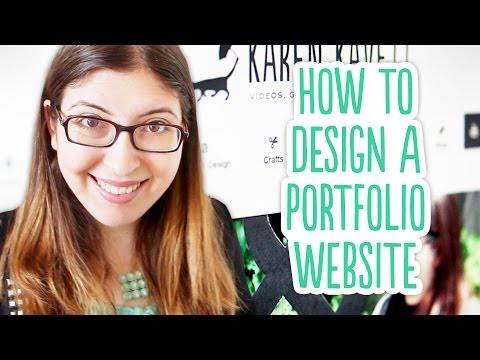 How to Design a Portfolio Website