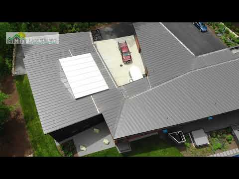 Marion residential standing seam metal roof