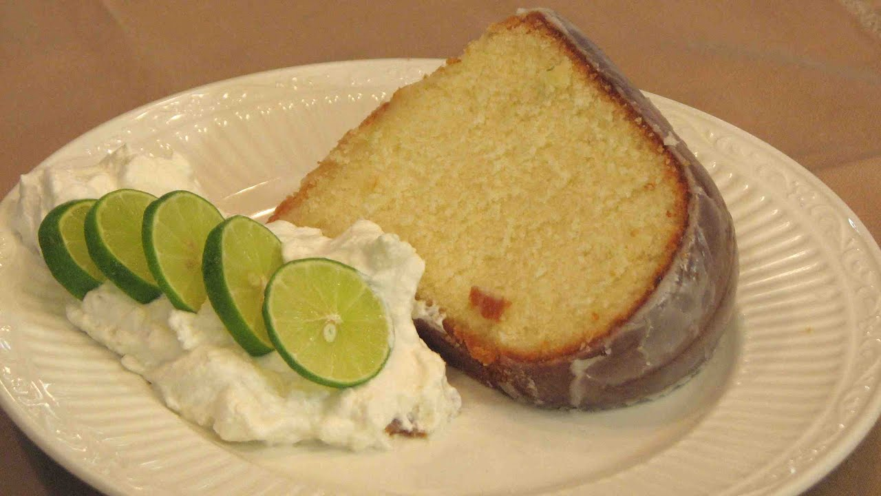 Southern Living Key Lime Pound Cake Recipe