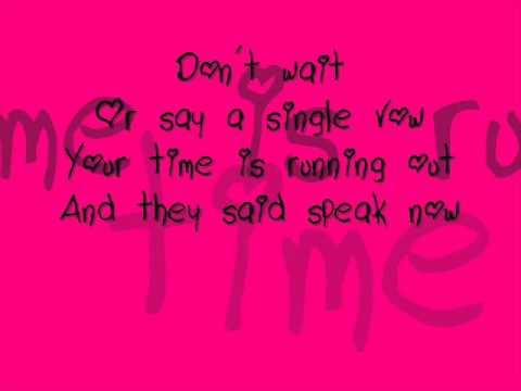 taylor-swift-speak-now-lyrics