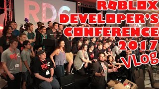 Roblox Developer's Conference 2017 VLog (US)
