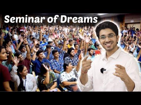 Seminar of Dreams - By Aman Dhattarwal | Motivational Video | Hindi