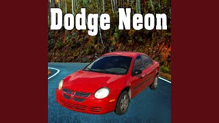 Dodge Neon Approaches Slow from Right, Stops, Engine Idles & Shuts Off