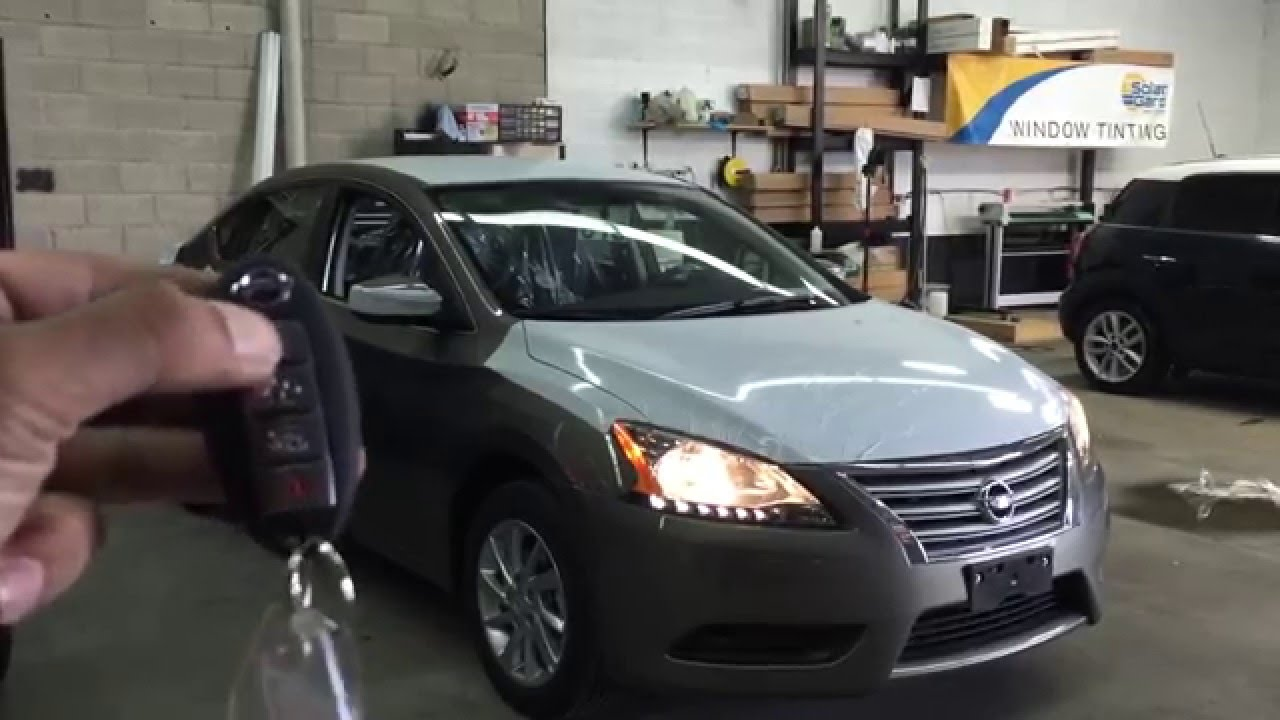 Nissan Altima Remote Starter Factory Remote Start Youtube