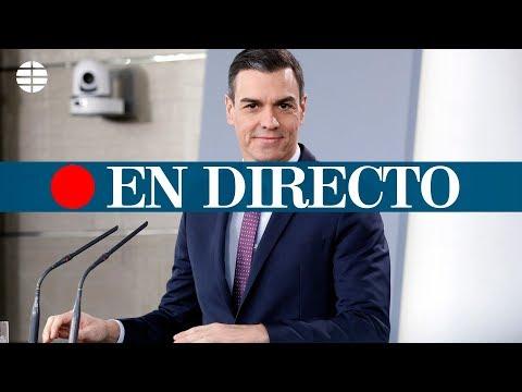 Rueda de prensa de Pedro Sánchez tras su reunión con Quim Torra, en directo