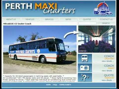 Bus Hire Perth - Perth Maxi Charters - Bus & Coach Rentals
