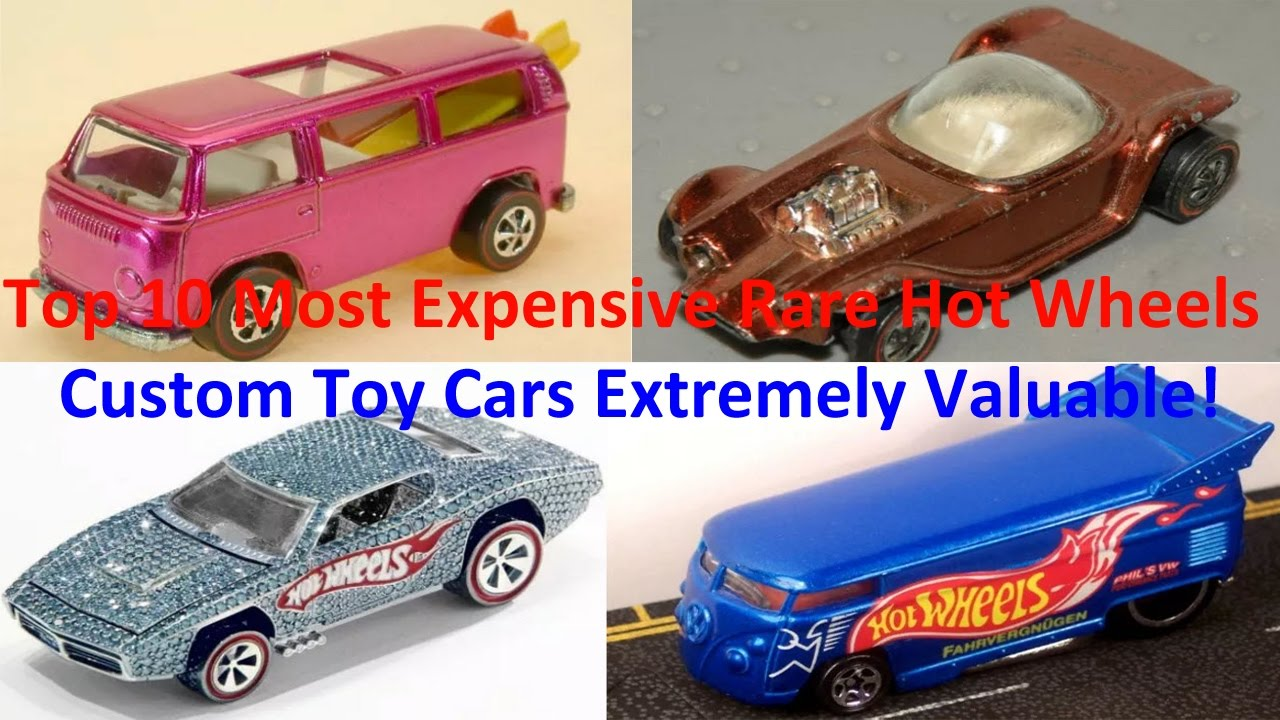 Top 10 Most Expensive Rare Hot Wheels Custom Toy Cars Extremely ...