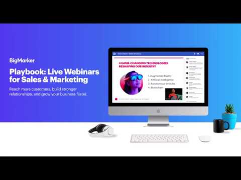 Sales And Marketing Webinar Playbook