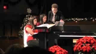 Jessy's Senior Christmas Recital - Praise the Lord!