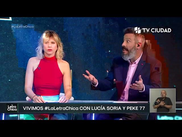 La Letra Chica | Lucia Soria y Peke 77