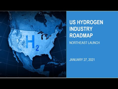 Road Map to a US Hydrogen Economy - Northeast Launch - January 27, 2021