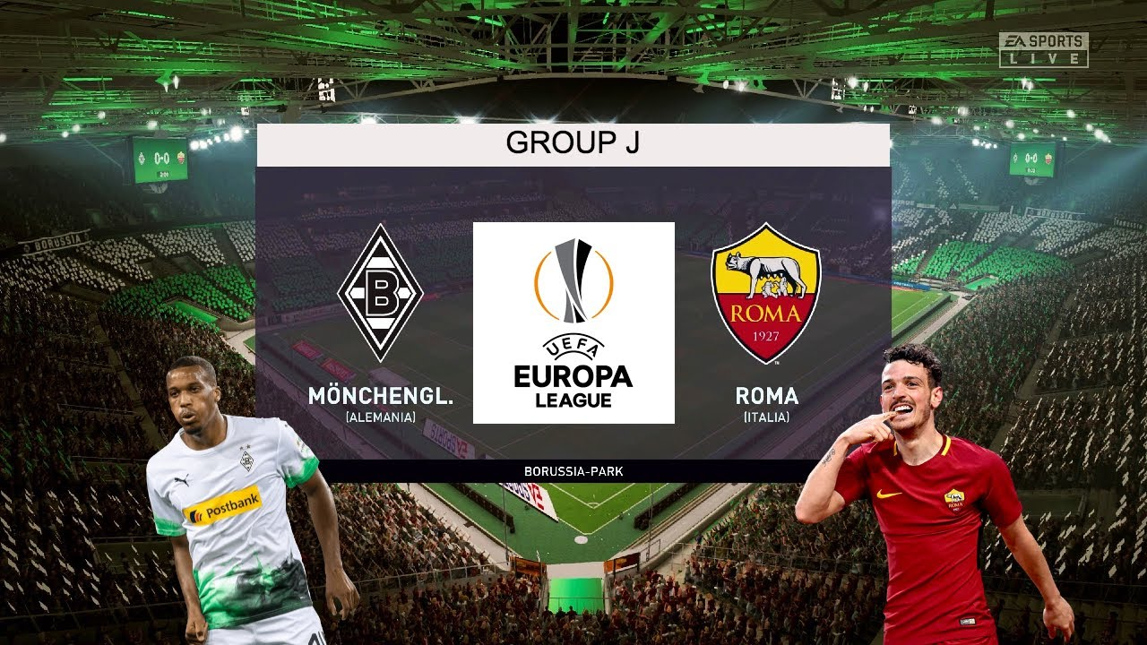 Borussia Monchengladbach Vs Roma Europa League