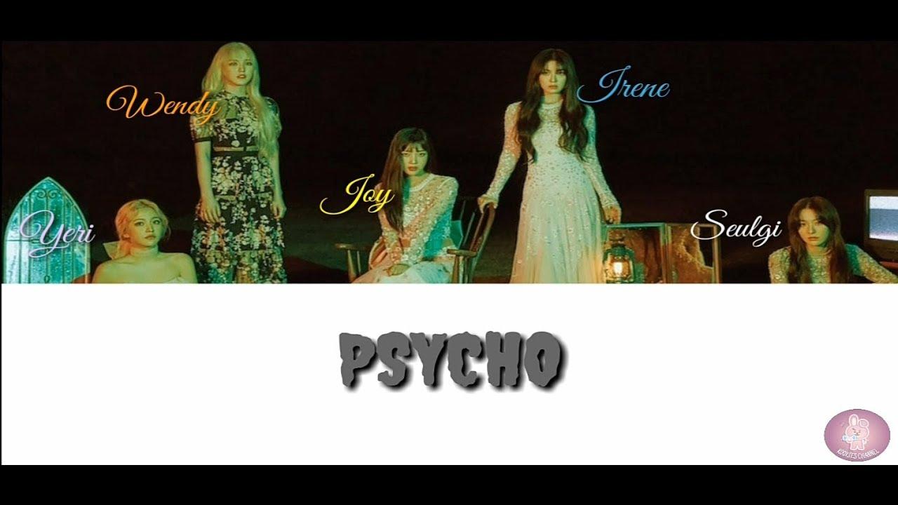 Pyscho  - Redvelvet (Lyrics Video) #1