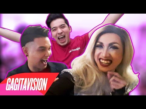 Iyak-tawa sa Die Beautiful feat. Paolo Ballesteros - Gagitavision No. 10
