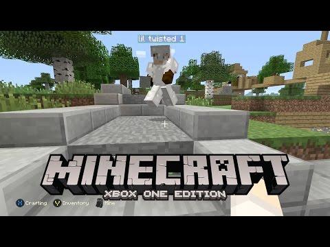 Our Blacksmith Area - Minecraft Xbox One Edition [Walkthrough, Gameplay]