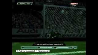 Gol de Cristiano Pes 2009 PC