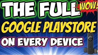 🔴GET EVERY APK DIRECT FROM GOOGLE PLAYSTORE on FIRESTICK Nvidia Shield, Xiaomi Mi,. Easy Trick 2018