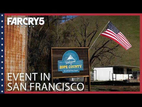 Far Cry 5: Event in San Francisco | Ubisoft [US]