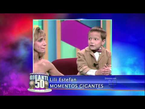 Lili Estefan (Momentos Gigantes 50 Aniversario Sabado ...