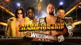 Wrestlemania XXVI FULL Match Card (Theme: BE YOURSELF)