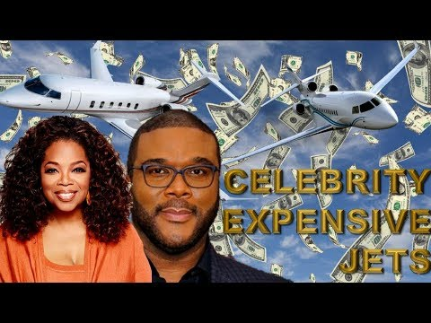 9 EXPENSIVE Luxury Private Jets Owned by Celebrities