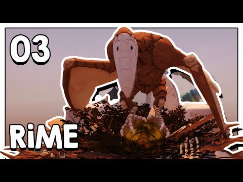 Let's Play RiME Blind Part 3 - Three Windmill Towers [RiME PC Gameplay]